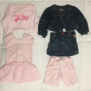 Old Navy Other - Old Navy BUNDLE 6-12 months!